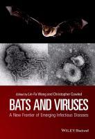 Bats and viruses : a new frontier of emerging infectious diseases için kapak resmi