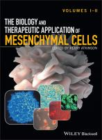 The biology and therapeutic application of mesenchymal cells için kapak resmi