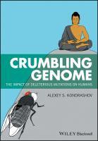 Crumbling genome : the impact of deletrious mutations on humans için kapak resmi