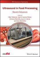 Ultrasound in food processing için kapak resmi