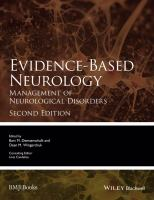 Evidence-based neurology : management of neurological disorders için kapak resmi
