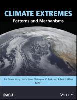 Climate extremes : patterns and mechanisms için kapak resmi
