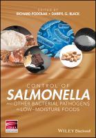 Control of salmonella and other bacterial pathogens in low-moisture foods için kapak resmi