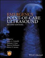 Emergency point of care ultrasound için kapak resmi