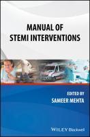 Manual of STEMI interventions için kapak resmi