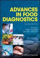 Advances in food diagnostics için kapak resmi