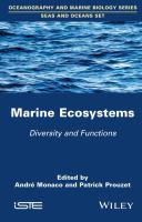 Marine ecosystems : diversity and functions için kapak resmi
