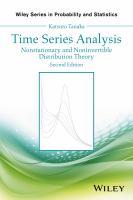 Time series analysis : nonstationary and noninvertible distribution theory için kapak resmi