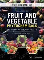 Fruit and vegetable phytochemicals : chemistry and human health için kapak resmi