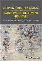 Antimicrobial resistance in wastewater treatment processes için kapak resmi