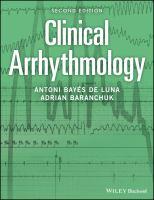Clinical arrhythmology için kapak resmi