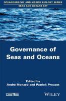 Governance of seas and oceans için kapak resmi