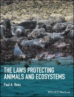 The laws protecting animals and ecosystems için kapak resmi