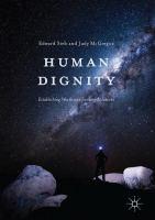 Human Dignity Establishing Worth and Seeking Solutions için kapak resmi