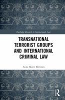 Transnational terrorist groups and international criminal law için kapak resmi