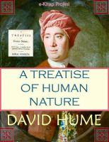 A treatise of human nature için kapak resmi