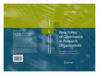 New Forms of Governance in Research Organizations Disciplinary Approaches, Interfaces and Integration için kapak resmi