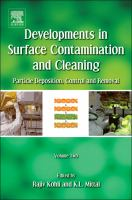 Developments in surface contamination and cleaning için kapak resmi
