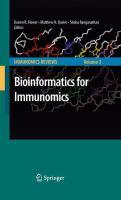 Bioinformatics for Immunomics için kapak resmi