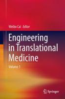 Engineering in Translational Medicine için kapak resmi