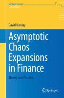 Asymptotic Chaos Expansions in Finance Theory and Practice için kapak resmi