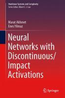 Neural Networks with Discontinuous/Impact Activations için kapak resmi