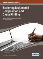 Exploring multimodal composition and digital writing için kapak resmi