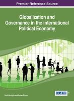 Globalization and governance in the international political economy için kapak resmi
