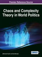 Chaos and complexity theory in world politics için kapak resmi