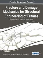 Fracture and damage mechanics for structural engineering of frames : state-of-the-art industrial applications için kapak resmi