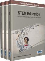 STEM education : concepts, methodologies, tools, and applications için kapak resmi