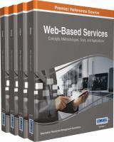 Web-based services : concepts, methodologies, tools, and applications için kapak resmi