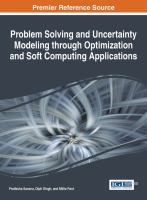 Problem solving and uncertainty modeling through optimization and soft computing applications için kapak resmi