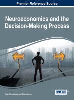 Neuroeconomics and the decision-making process için kapak resmi