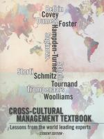 Cross-cultural management textbook: Lessons from the world leading experts in cross-cultural management için kapak resmi