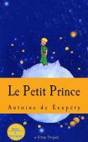 Le petit prince için kapak resmi
