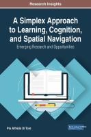 A simplex approach to learning, cognition, and spatial navigation için kapak resmi