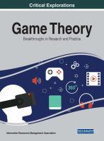 Game theory : breakthroughs in research and practice için kapak resmi