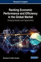 Ranking economic performance and efficiency in the global market için kapak resmi