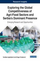 Exploring the global competitiveness of agri-food sectors and Serbia's dominant presence için kapak resmi
