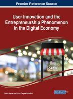 User innovation and the entrepreneurship phenomenon in the digital economy için kapak resmi