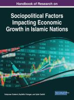 Handbook of research on sociopolitical factors impacting economic growth in Islamic nations için kapak resmi