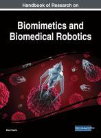 Handbook of research on biomimetics and biomedical robotics için kapak resmi
