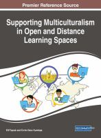 Supporting multiculturalism in open and distance learning spaces için kapak resmi