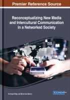 Reconceptualizing new media and intercultural communication in a networked society için kapak resmi
