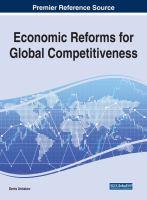Economic reforms for global competitiveness için kapak resmi