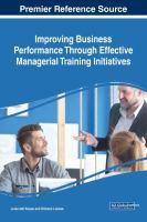 Improving business performance through effective managerial training initiatives için kapak resmi