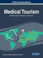 Medical tourism : breakthroughs in research and practice için kapak resmi