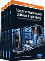 Computer systems and software engineering : concepts, methodologies, tools, and applications için kapak resmi