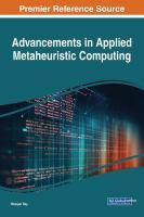 Advancements in applied metaheuristic computing için kapak resmi